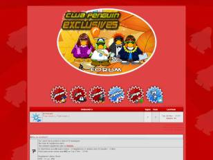 Red Club Penguin Theme