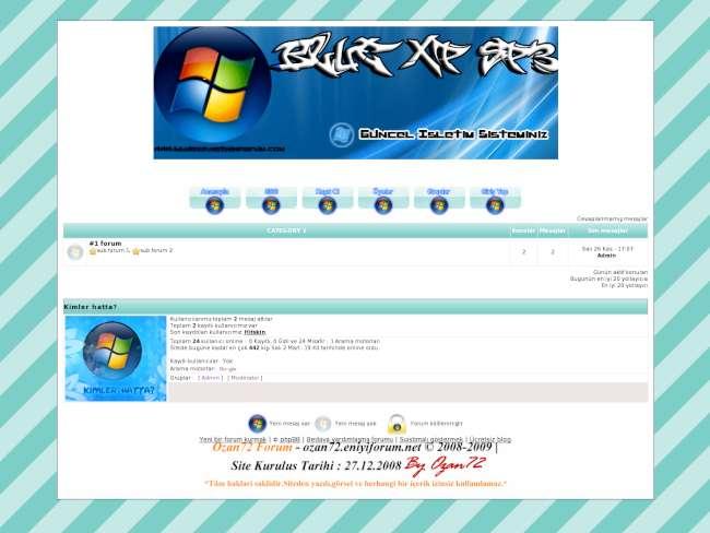 Blue xp sp3 forum tema...