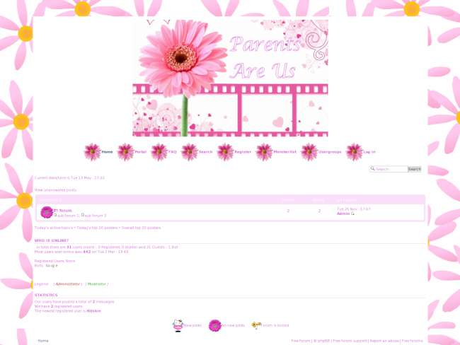 Pink Daisy1