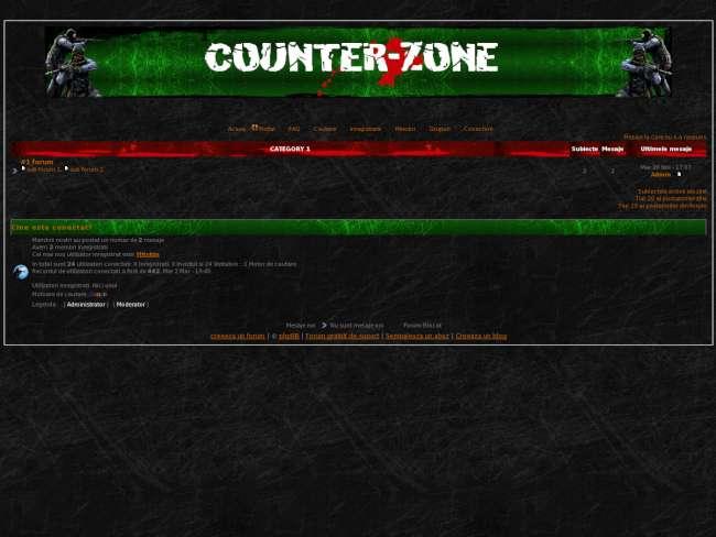 Counterzone™