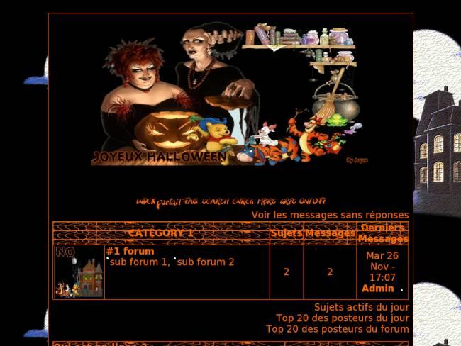 correction theme halloween 2