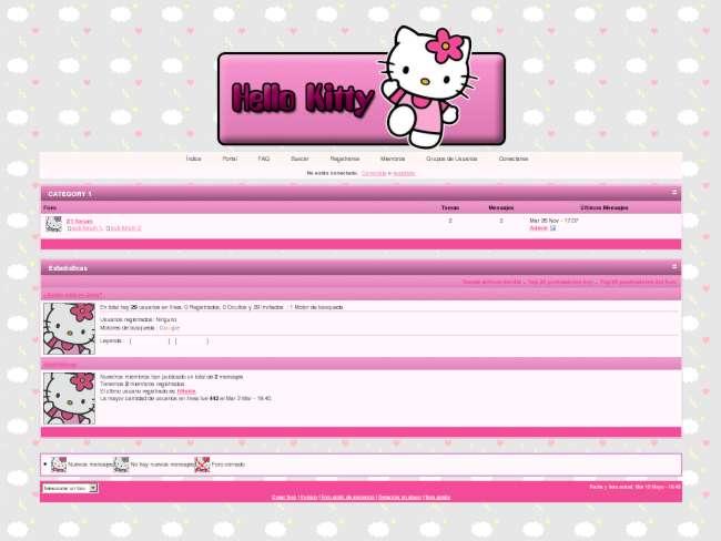 Hello Kitty Pink (: