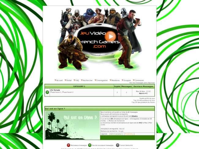 French gamers vert