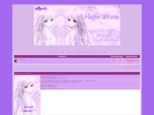 Purple girls theme ii