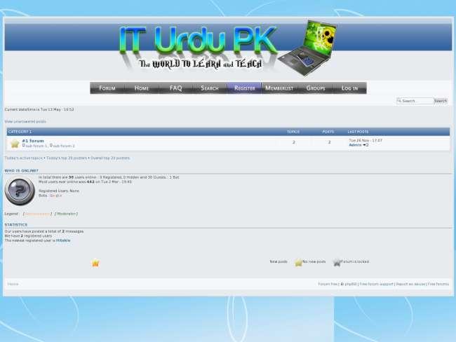 IT Urdu PK (phpbb3)