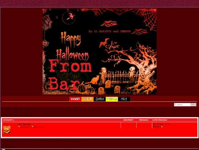 Halloween Skin Bar