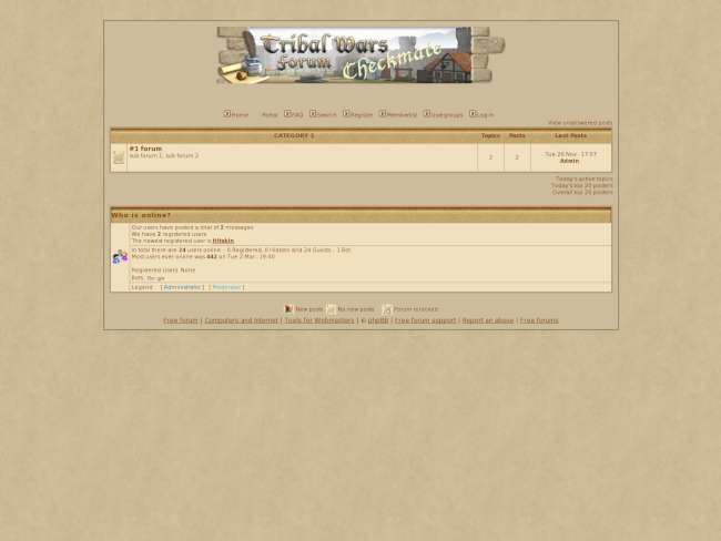 Tribalwars Moden 2