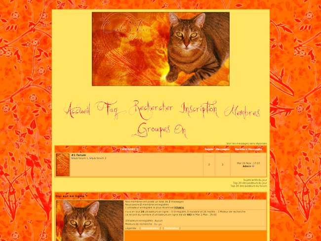 Cats war genetic/autumn