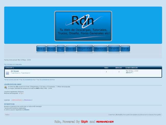 Rdn Aero Blue 1.0