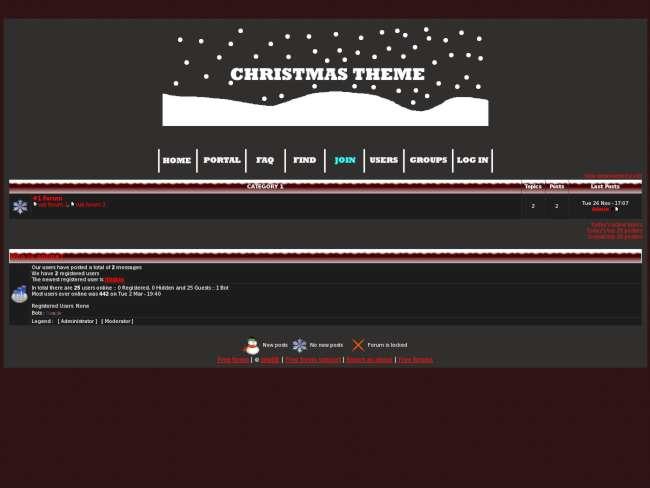 Christmas Theme [Christmas]