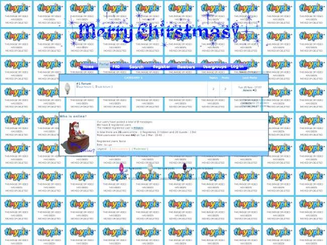 [CHRISTMAS} Theme for the Christmas contest