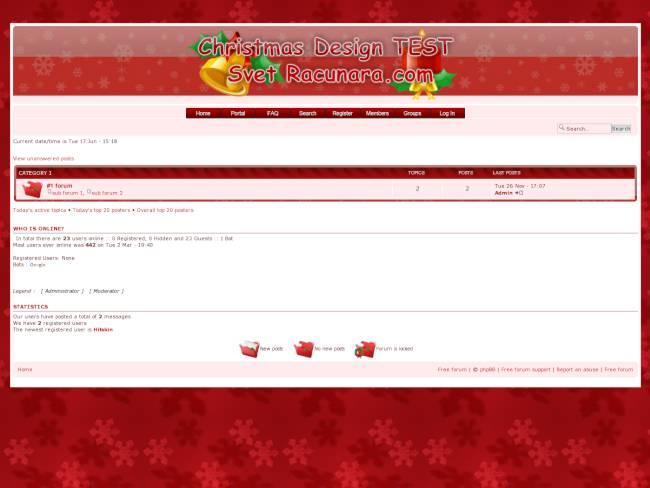 [Christmas] Christmas Theme - Design