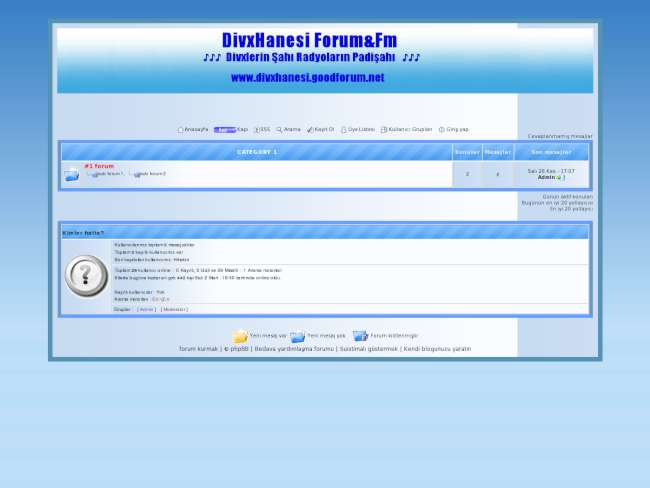 DiivxHanesi Forum&Fm