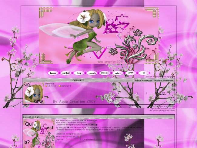 la fée en rose
