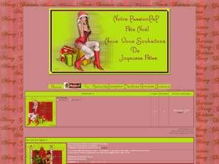 Noel en rouge et vert