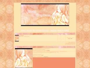 Thème manga-fleur