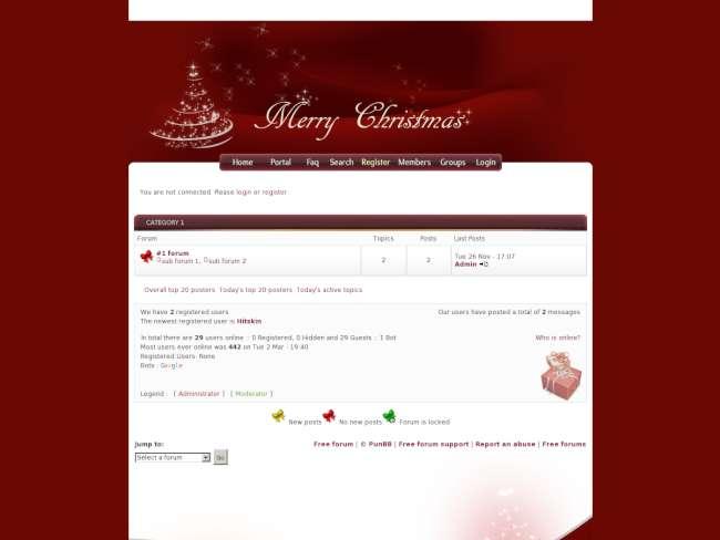 [christmas] theme