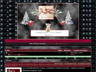 Noel familly chez loul...