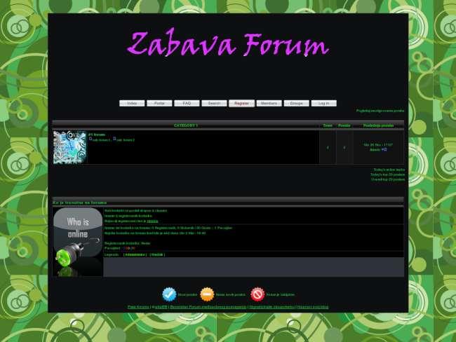 Zabava Forum