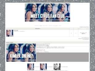 Miley fan tema