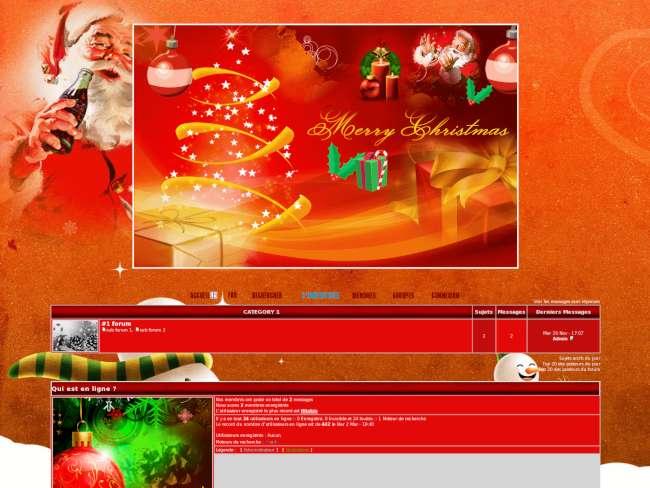 Santa claus merry chri...
