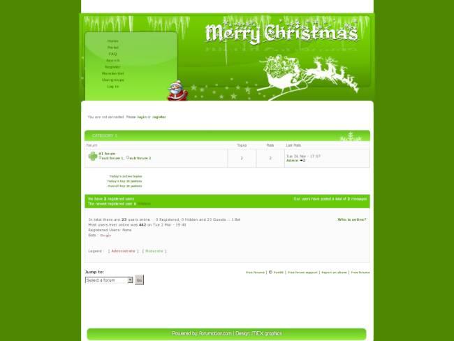 [Christmas] Green Christmas