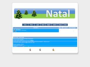 Natal no forum