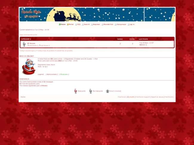 Red Christmas #1