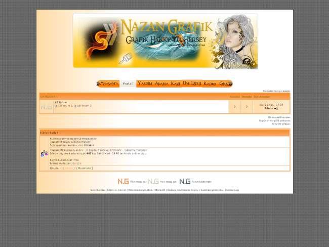 Nazan Grafik Sitesi Tema 2
