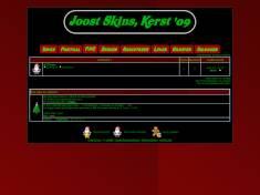 Joost skins kerst '09