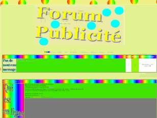 Forum publicité