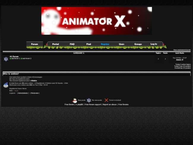 Animatorx
