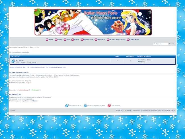 Sailor moon foro skin ...