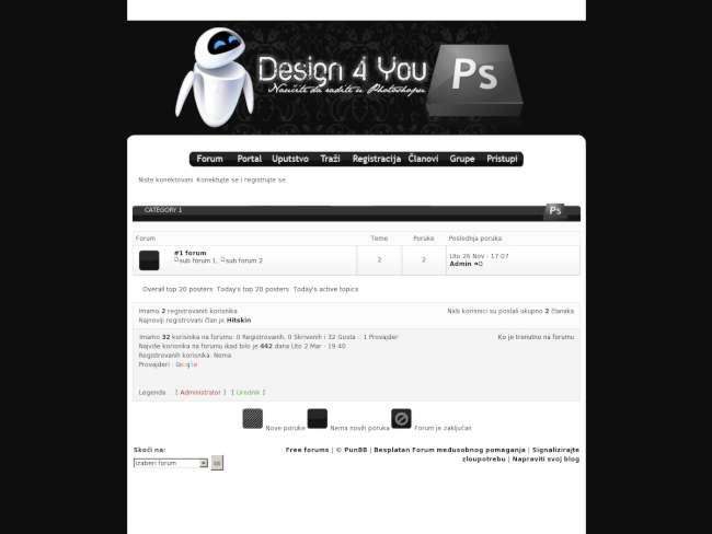 Design for You Black skin
