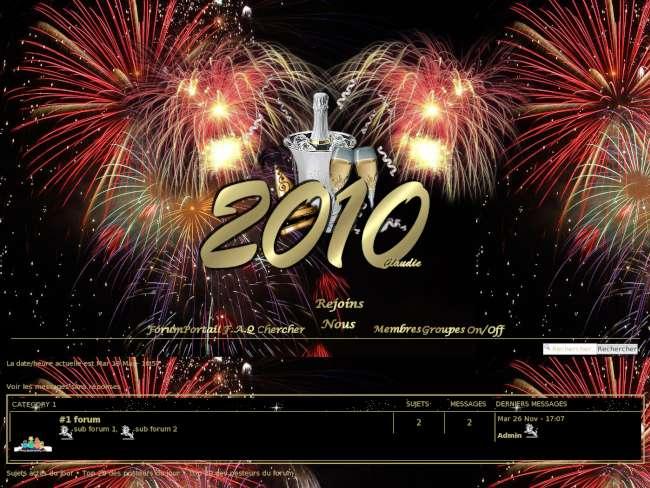 Bonne année phpbb3