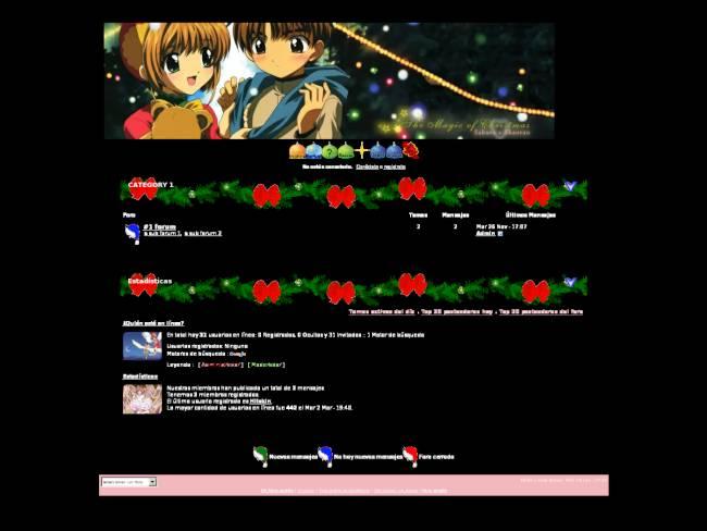 Sakura Card Captor Navideño 3