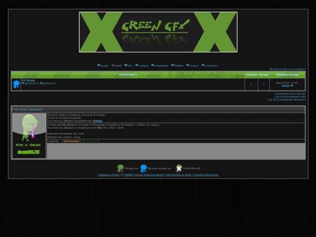 Green gfx - theme