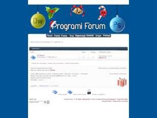 Programi forum skin