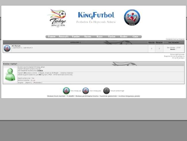Euro 2016 Türkiye [KingFutbol]