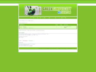 Green simplicity