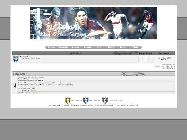 FutbolKolik I Yeni Tasarım