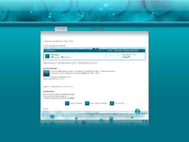 Ambient Style 'phpBB3'