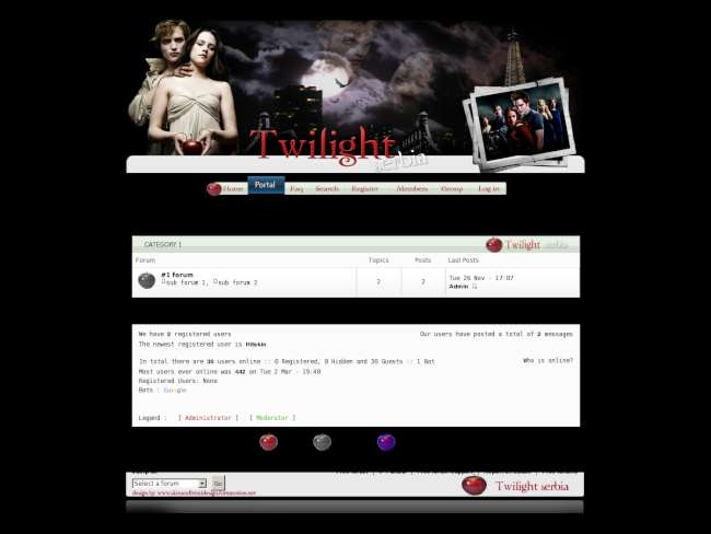 Twilight serbia