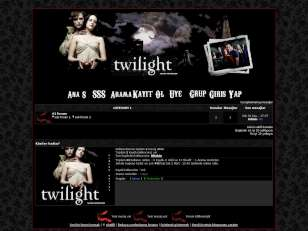 Twilight wampire fan tema