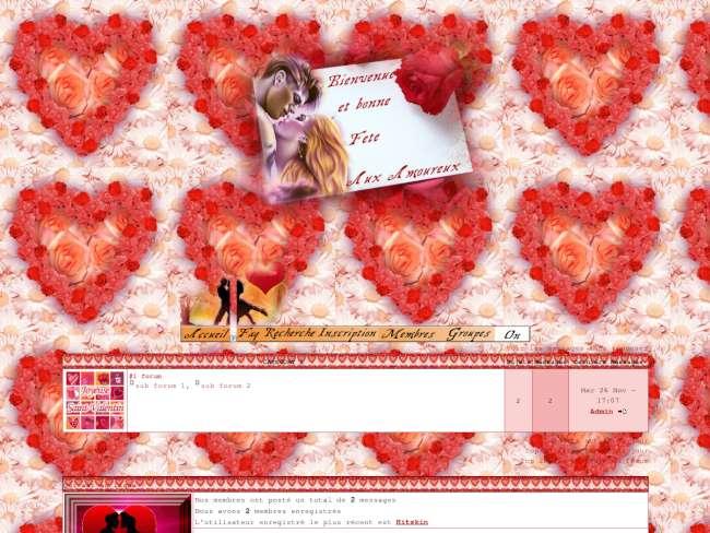 Valentin et valentine
