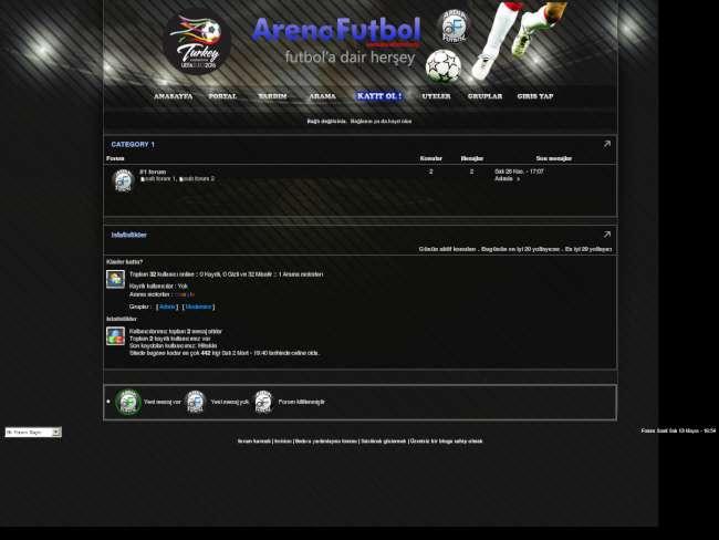 ArenaFutbol ve Arenaoyun Futbol Teması