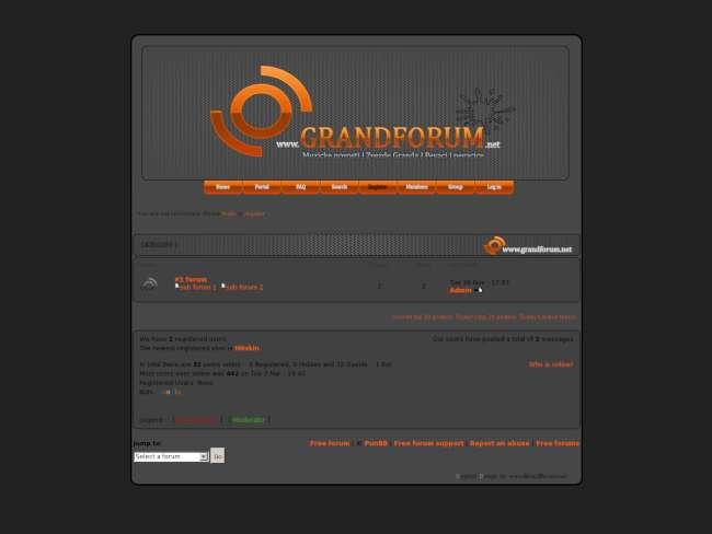 Grand orange