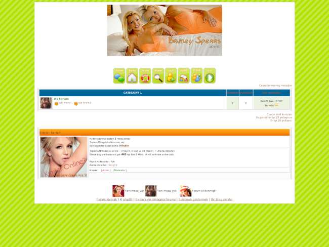 Britney tema