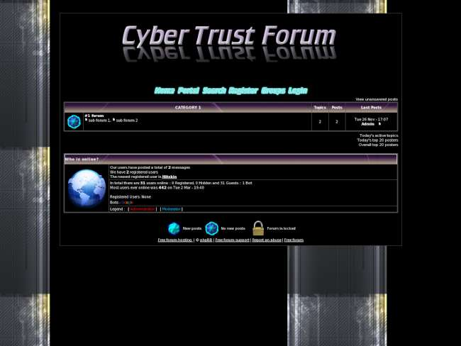Cyber trust forum