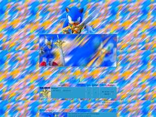 Sonic Blue X
